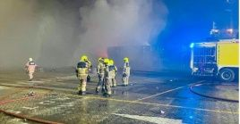 Durante el siniestro no se reportaron pérdidas humanas ni heridos.