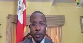 """""""El objetivo primordial para nosotros es que haya justicia por la muerte del presidente Moïse"""", indicó el primer ministro Claude Joseph."""