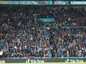 De cara a la final el riesgo de contagios se elevará en áreas exteriores a Wembley, ante la concentración de fanáticos.