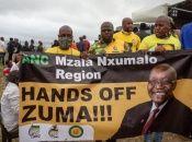 En la provincia de Kwazulu-Natal, donde el expresidente Jacob Zuma fue encarcelado el jueves, estallaron manifestaciones el viernes y el sábado, confirmaron fuentes policiales.