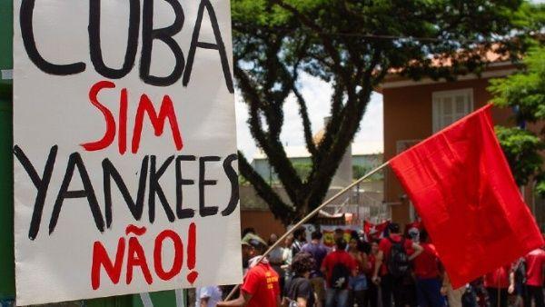 Em toda a América Latina e no Caribe houve um apelo à solidariedade com Cuba diante das tentativas de desestabilização.