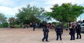 Los migrantes rescatados fueron puestos a disposición del Instituto Nacional de Migración de México.