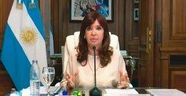 Cristina Fernández cuestionó la imparcialidad del proceso que se le llevaba en su contra.