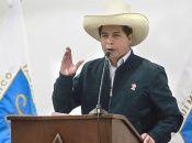 Simpatizantes de Perú Libre exigieron el domingo al JNE la inmediata proclamación de Pedro Castillo como presidente electo.