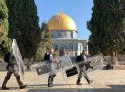 La mezquita Al-Aqsa es escenario, de manera habitual, de enfrentamientos entre colonos israelíes y residentes palestinos.