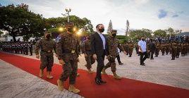 La Fuerza Armada recuperó protagonismo con la llegada de Nayib Bukele al poder.