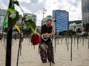 Brasil es el tercer país del mundo con más contagios por Covid -19, atrás de India y EE.UU.