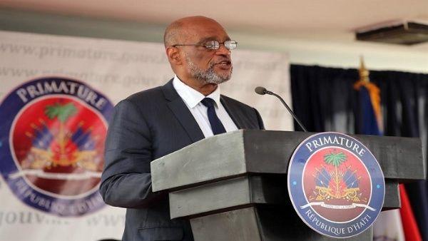 El primer ministro Henry direccionó su discurso hacia la defensa de la soberanía y autodeterminación de Haití.