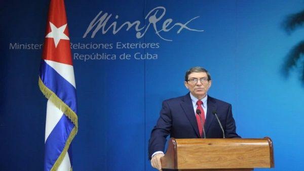 El canciller Bruno Rodríguez alertó que la política de presión ejercida por el Gobierno de EE.UU. va dirigida especialmente a países latinoamericanos.