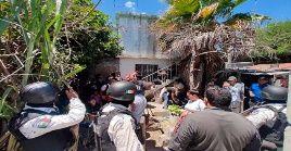 Los más de 50 migrantes se encantaban retenidos en una casa de la localidad de Reinosa, Tamaulipas.