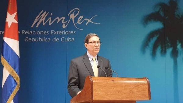 Rodríguez condenó la utilización de las remesas como un condicionante político, como parte del bloqueo contraCuba.