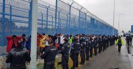 La policía recapturó a 78 presos que se fugaron del Centro de Privación de Libertad Cotopaxi No. 1.