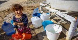 Unicef precisó que 1,7 millones de personas en el Líbano tienen acceso a sólo 35 litros al día.