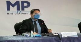 Juan Francisco Sandoval participó en el proceso que permitió llevar a la justicia al expresidente Otto Pérez Molina por corrupción.