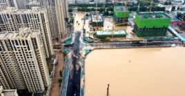 Durante el periodo de 24 horas, seis estaciones de monitoreo de Henan registraron precipitaciones superiores a los 50 milímetros.