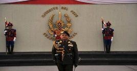 El general César Astudillo, venía ocupando la Comandancia General del Ejército por designación del expresidente Pedro Pablo Kuczynski, en 2017.