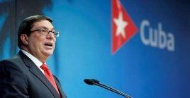 El canciller Bruno Rodríguez ha denunciado previamente que Washington financia campañas de descredito contra el país.