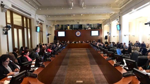 El presidente cubano recordó el papel de la OEA en la orquestación de campañas desestabilizadoras en la región.