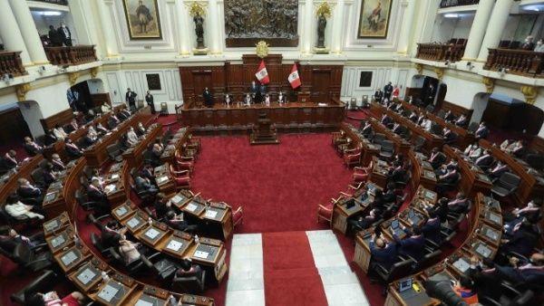 Foto:  @congresoperu