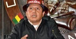 El líder obrero instó a su gremio a defender la recuperación de la democracia boliviana.