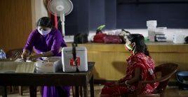 El Ministerio de Salud de la India registró 43.000 contagios de la Covid-19 en las últimas 24 horas.