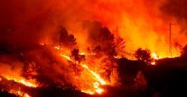 Expertos advierten que el calentamiento global aumenta tanto la frecuencia, como la intensidad de los incendios forestales.