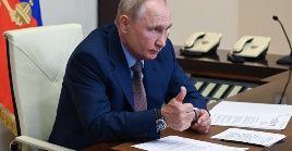 El mandatario ruso precisó que la temperatura media anual en Rusia ha aumentado 2.8 veces más rápido que la media mundial.