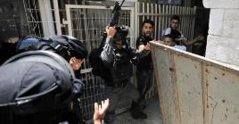 Los palestinos se habían movilizado para protestar contras los asentamientos ilegales de Israel en la zona.
