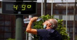 La ola de calor comenzó el pasado miércoles y está previsto que finalice el próximo lunes.