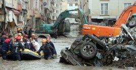 Por el momento, se contabilizan más de 2.300 ciudadanos que han sido evacuados de las zonas más afectadas por el fenómeno natural.