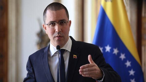 """El ministro de Relaciones Exteriores afirmó que """"en Venezuela hemos avanzado hacia el diálogo a pesar de las agresiones e injerencismo""""."""