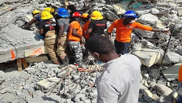 La movilización de organismos internacionales con ayuda ha sido inmediata, como los suministro médicos de la Cruz Roja.