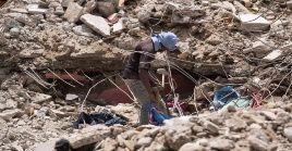 """La ONU advirtió que """"es probable que las víctimas continúen aumentando a medida que persistan las operaciones de búsqueda y rescate""""."""