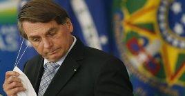 Bolsonaro mantiene una causa abierta por sus criticas al sistema electoral de Brasil.