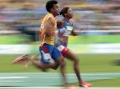 La velocista cubana Omara durand ostenta tres récords mundiales en las distancias de 100, 200 y 400 metros planos.