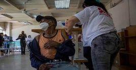 Venezuela avanza en la campaña de vacunación contra el coronavirus.