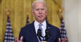 Biden mantuvo firme su decisión de culminar la evacuación de las tropas estadounidenses el próximo 31 de agosto.
