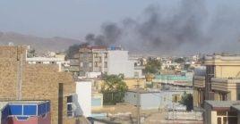 Esta explosión se produce en el marco de recientes amenazas de nuevos atentados terroristas tras la masacre del pasado jueves en la capital afgana.