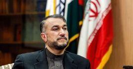 """""""Los sionistas han tomado cautivos a los musulmanes, cristianos y judíos en la región y en la tierra histórica de Palestina"""", señaló el canciller iraní."""