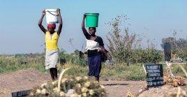 Según un informe de la ONU, en el mundo hay más de 3 millones de personas que viven en áreas agrícolas con escasez de agua.