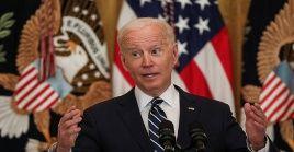 """Finalmente, instó a la ciudadanía a unirse a una """"plegaria de acción de gracias"""" en memoria de los soldados caídos que estuvieron en la injerencia de la Casa Blanca en Kabul."""