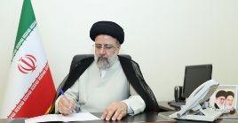 El mandatario iraní catalogó de flagrante violación de los derechos humanos la intervención estadounidense en el territorio afgano.