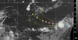 Larry, duodécima tormenta tropical del 2021, ha aumentado su velocidad de traslación en las últimas horas.