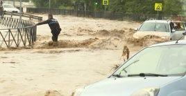 Usuarios de las redes sociales han compartido imágenes y videos de la situación que se vive en las diferentes localidades españolas.