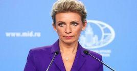 Zajárova instó a lacomunidad internacional a realizar medidas efectivas para preveniruna crisishumanitaria en Afganistán.