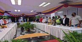 Las representaciones de Venezuela y Colombia dialogaron sobre la apertura comercial de la frontera para la reactivación económica y productiva de la zona.