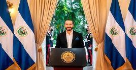 El presidente salvadoreña Nayib Bukele  podría buscar la reelección para el periodo 2024-2029.