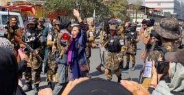 Esta protesta se realiza cuando los mismo talibanes han indicado que permitirían a las mujeres participar en el futuro Gobierno.