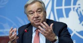 """Debemos unirnos para garantizar que la crisis de la Covid-19 no se convierta también en una crisis del hambre"""", dijo Guterres."""