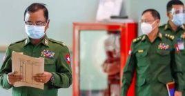 Yusof propuso el alto el fuego en una videoconferencia con el canciller Wunna Maung Lwin, y los militares lo aceptaron.